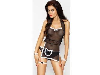 PASSION WOMAN SHAMIKA SET NEGRO TALLA S M