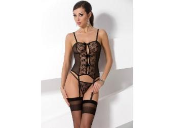 PASSION WOMAN GRACIA CORSET NEGRO TALLA S M