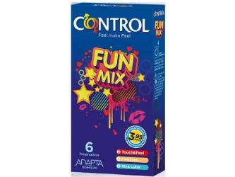 CONTROL FEEL FUN MIX  6 UDS
