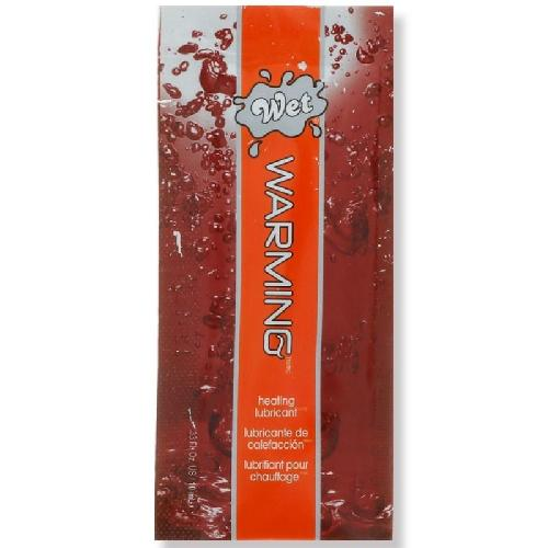 WET LUBRICANTE BASE AGUA EFECTO CALOR 10 ML